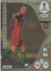 WC18 - 443  Cristiano Ronaldo (Portugal) - Icons