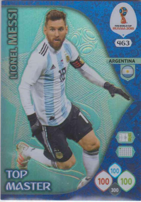 WC18 - 463  Lionel Messi (Argentina) - Top Masters