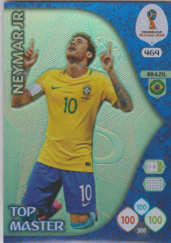 WC18 - 464  Neymar Jr (Brazil) - Top Masters