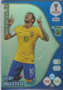 WC18 - 464  Neymar Jr (Brazil) - Top Masters