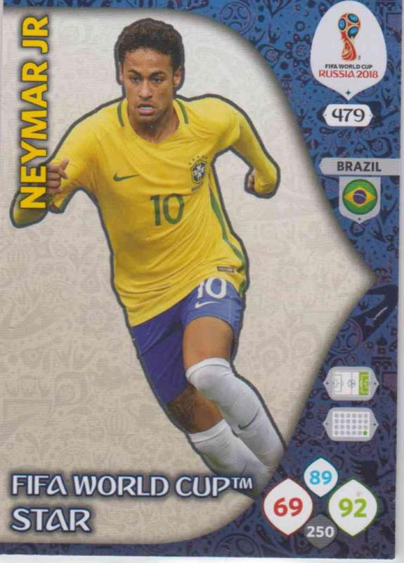 WC18 - 479  Neymar Jr (Brazil) - FIFA World Cup Stars