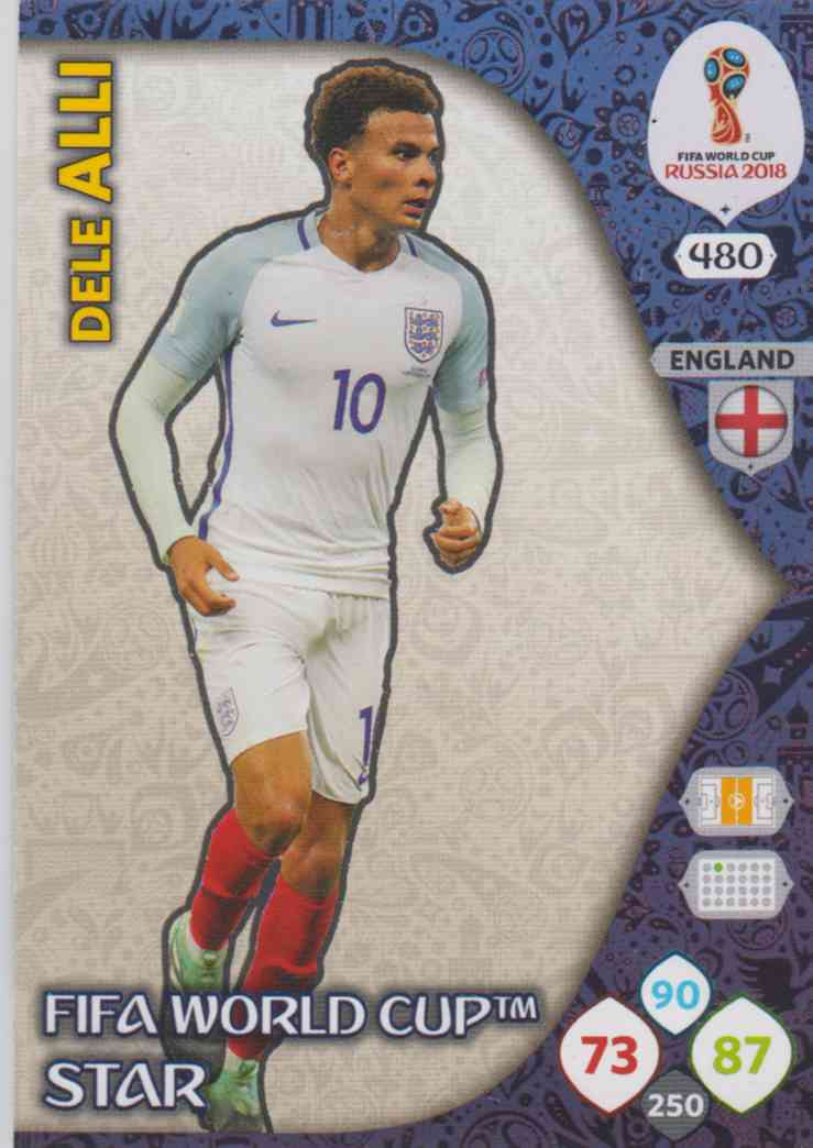 more photos 0781a 609f8 WC18 - 480 Dele Alli (England) - FIFA World Cup Stars