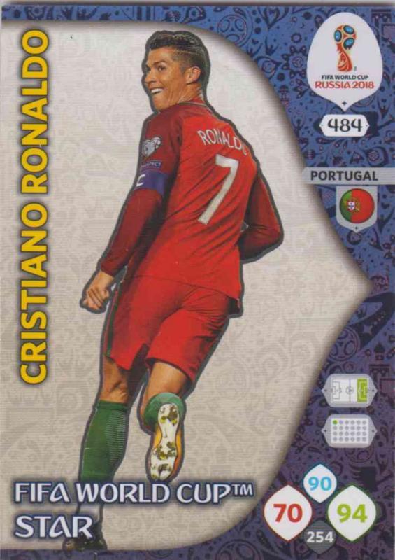 WC18 - 484  Cristiano Ronaldo (Portugal) - FIFA World Cup Stars