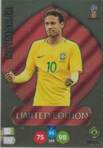 WC18 XXL Limited Edition Neymar JR - Limited Edition (stort kort / large card)
