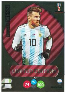 WC18 XXL Limited Edition Lionel Messi - Limited Edition (stort kort / large card)