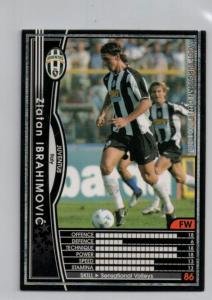 Zlatan Ibrahimovic 2004-05 Panini WCCF European Clubs #143