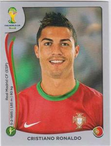 Panini World Cup 2014 Sticker #523 Cristiano Ronaldo
