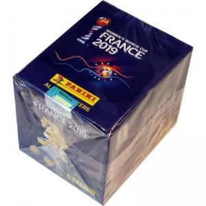Hel Box (50 paket), Panini Stickers Women's World Cup France 2019 (Klisterbilder)