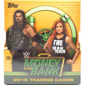 Sealed Box 2019 Topps WWE Money in the Bank