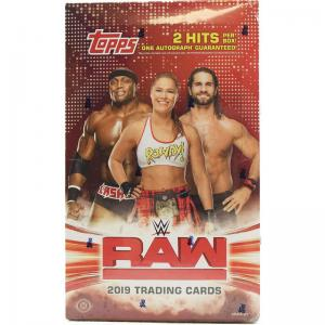 Sealed Box 2019 Topps WWE Raw
