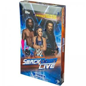 Sealed Box 2019 Topps WWE Smackdown Live! Hobby