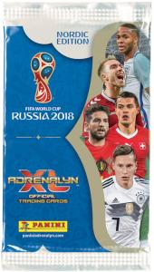 1st Paket, Nordic Edition Panini Adrenalyn XL World Cup 2018