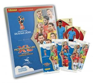 1st Startpaket, Nordic Edition Panini Adrenalyn XL World Cup 2018