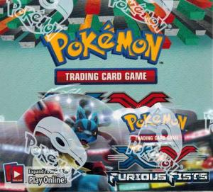 Pokémon, XY Furious Fists, 1 Display / Booster Box (36 Boosters)