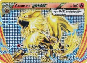 JUMBO, XY Promo Cards, Arcanine Break - XY180 JUMBO (Stort kort)