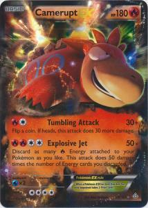 Primal Clash, Camerupt EX - 29/160 - Ultra Rare