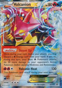 Pokemon Promo Cards, Volcanion-EX - XY173 - Ultra Rare Promo