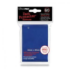 Small deck protector sleeves, blue, 60ct - Ultra Pro