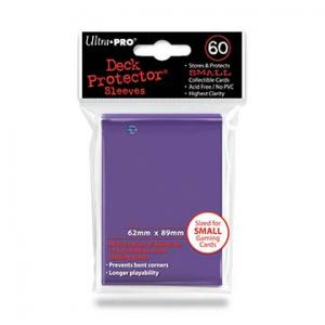 Small deck protector sleeves, purple, 60ct - Ultra Pro