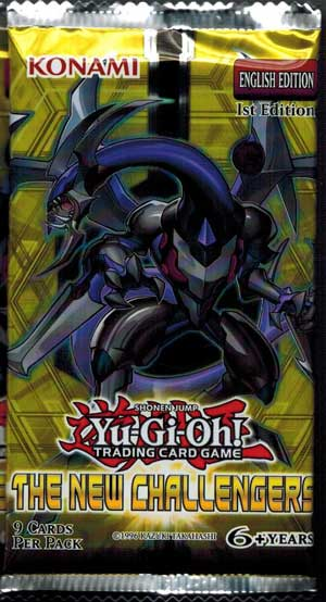 Yu-Gi-Oh, The New Challengers, 1 Booster