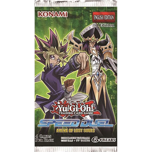 Yu-Gi-Oh, Speed Duel Arena of Lost Souls, 1 Booster (4 cards)