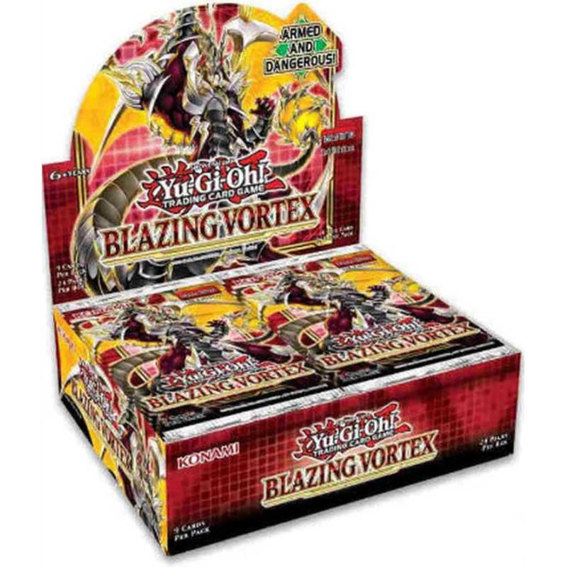 Yu-Gi-Oh, Blazing Vortex, 1 Display (24 Boosters)