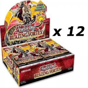 Yu-Gi-Oh, Blazing Vortex, 1 Case (12 Displays)