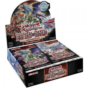 PRE-BUY: Yu-Gi-Oh, Battles of Legend: Armageddon, Display (24 Boosters) (Preliminary release July 23:rd 2020)