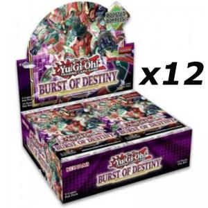 PREVIEW: Yu-Gi-Oh, Burst of Destiny, 1 Case (12 Displays) (Sales will start when we have more info)