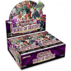 PREVIEW: Yu-Gi-Oh, Burst of Destiny, 1 Display (24 Boosters) (Sales will start when we have more info)