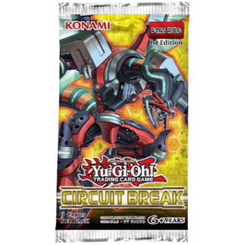Yu-Gi-Oh, Circuit Break, 1 Booster (9 cards)