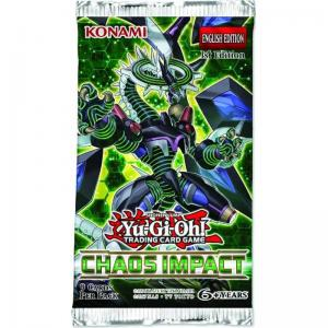 Yu-Gi-Oh, Chaos Impact, 1 Booster (9 cards)
