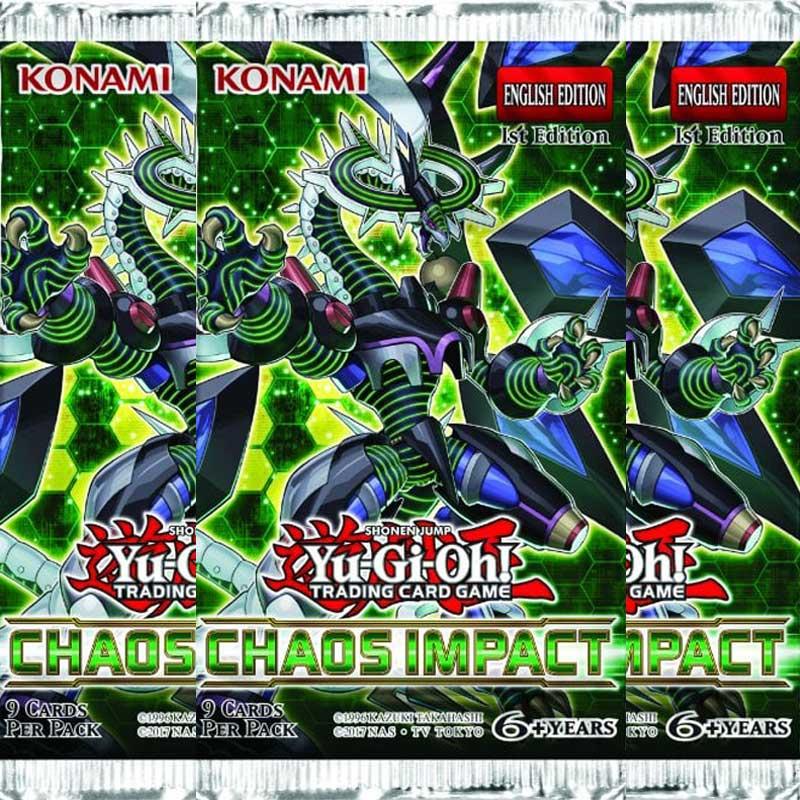 Yu-Gi-Oh, Chaos Impact, 3 Boosters