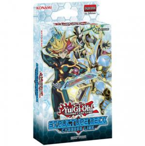 Yu-Gi-Oh, Cyberse Link, Structure Deck (Blue text on the box)