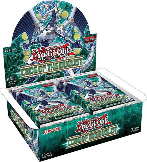 Yu-Gi-Oh, Code of the Duelist, 1 Display (24 boosters)