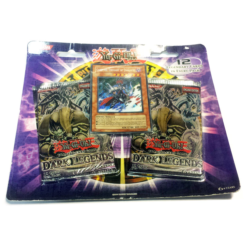 Yu-Gi-Oh, Dark Legends 2-pack blister