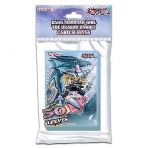 Yu-Gi-Oh - Dark Magician Girl the Dragon Knight - Card Sleeves (50 Sleeves)