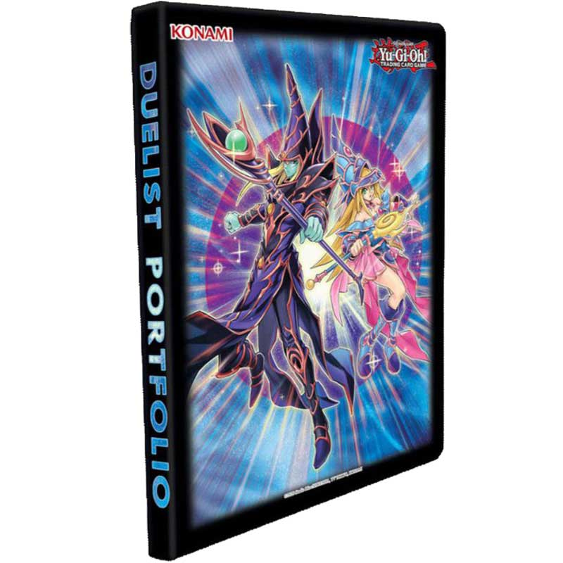Yu-Gi-Oh - The Dark Magicians - 9 Pocket Duelist Portfolio (Pärm)