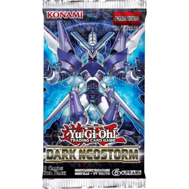 Yu-Gi-Oh, Dark Neostorm, 1 Booster (9 cards)