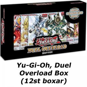 PRE-BUY: Yu-Gi-Oh, Duel Overload Box (12 boxes) (Preliminary release March 19:th 2020)