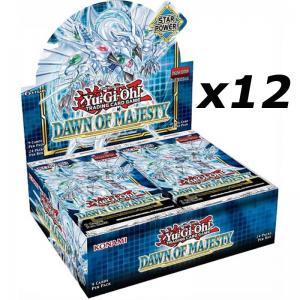Yu-Gi-Oh, Dawn of Majesty, 1 Case (12 Displays)