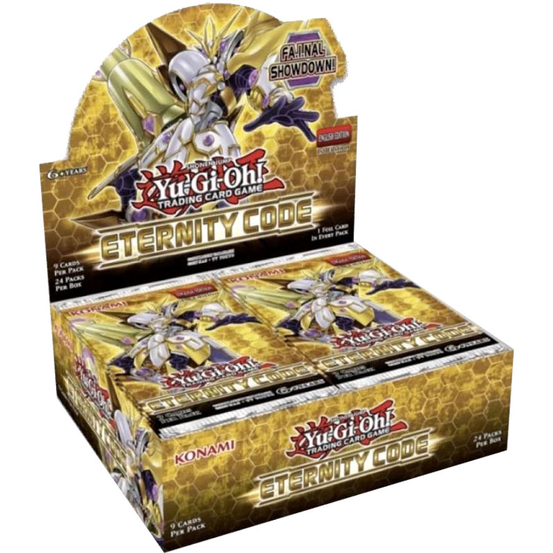 PRE-BUY: Yu-Gi-Oh, Eternity Code, 1 Display (24 boosters) (Preliminary release April 30:th 2020)