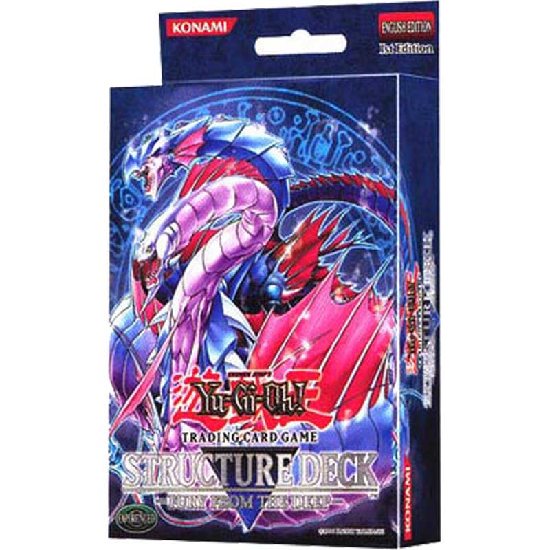 Yu-Gi-Oh, Fury from the Deep - Structure Deck (1st Edition)