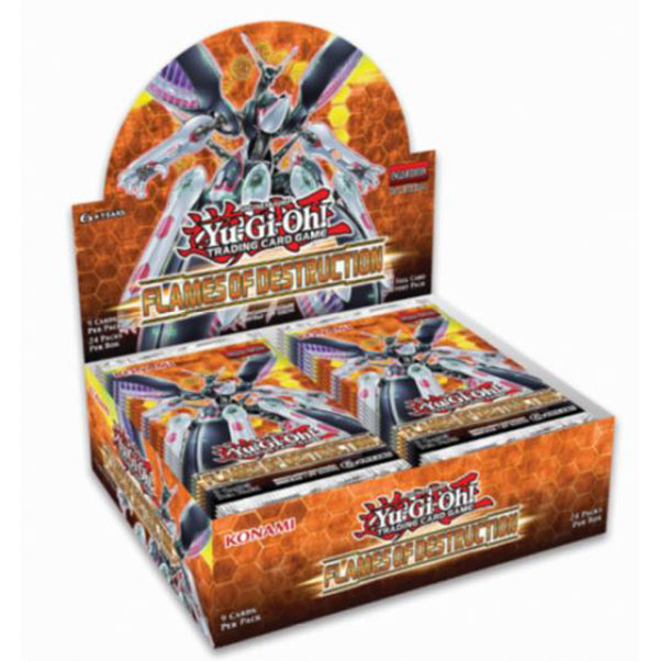 Yu-Gi-Oh, Flames of Destruction, Display (24 Boosters)