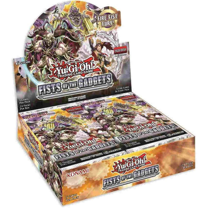 Yu-Gi-Oh, Fists of the Gadgets, Display (24 boosters)
