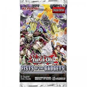 Yu-Gi-Oh, Fists of the Gadgets, 1 Booster (5 kort)