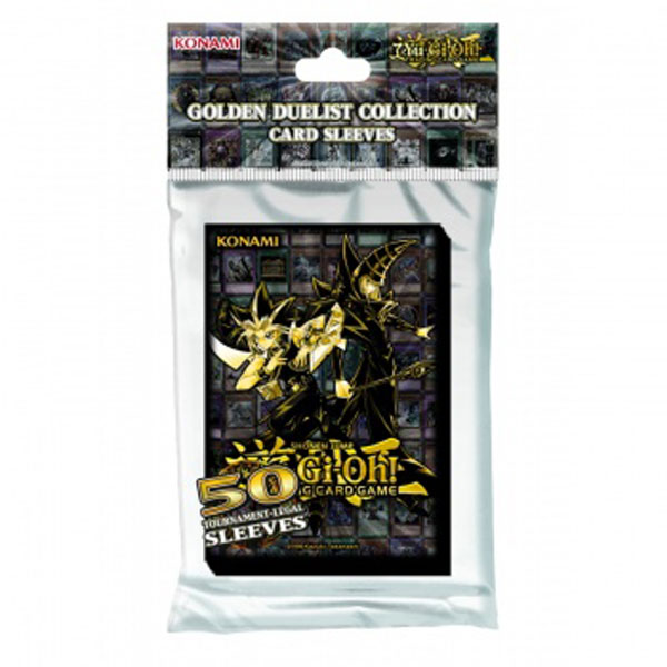Yu-Gi-Oh, Sleeves (50), Golden Duelists Collection