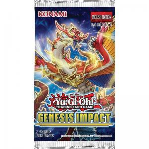 Yu-Gi-Oh, Genesis Impact, 1 Booster (7 cards)