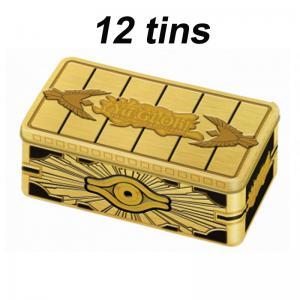 FÖRKÖP: 12st, Yu-Gi-Oh, 2019 Gold Sarcophagus Mega-Tin (Preliminär release 29:e augusti 2019)
