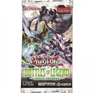 Yu-Gi-Oh, Battles of Legend: Heroes Revenge, 1 Booster (5 kort)